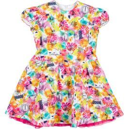 MMDadak dívčí šaty Jungle 104 vícebarevná