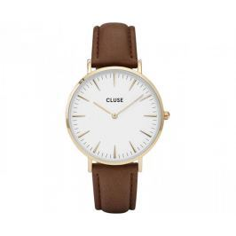 Cluse La Bohème Gold White/Brown CL18408