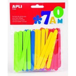 Pěnovka APLI tvarová nanuková dřívka/100 ks