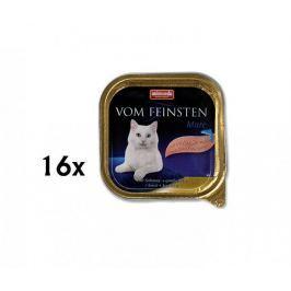 Animonda Vom Feinstein cat losos + krevet 16 x 100g