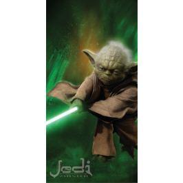 Jerry Fabrics Osuška Star Wars Yoda 70x140 cm
