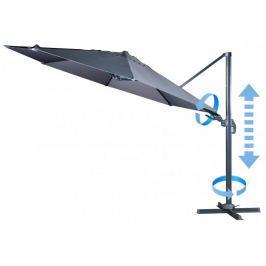 MAKERS Verona - boční slunečník 3,5 m, šédý