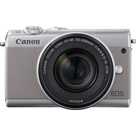 Canon EOS M100 Body, šedá - rozbaleno