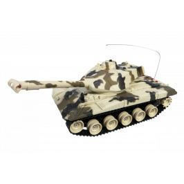 MaDe Tank na ovládání s pásy 50 cm - hnědý