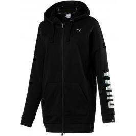 Puma FUSION Elongated FZ Hoody W Black XS