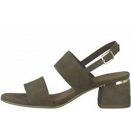 Tamaris dámské sandály Desie 36 khaki