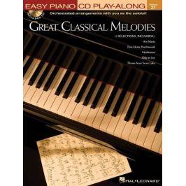 MS Great Classical Melodies - Easy Piano Noty pro klavír