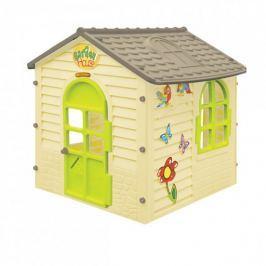 Mochtoys Zahradní domek malý s kytičkami