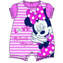 Disney by Arnetta dívčí overal Minnie 56 - 62 růžová