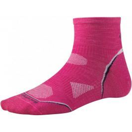 SmartWool Women's PhD Cycle Ultra Light Mini Bright Pink S