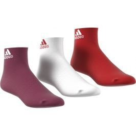 Adidas Per Ankle T 3PP Tactile Red/White/Mystery Ruby 35-38