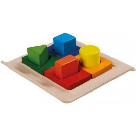 Plan Toys Třídění tvarů na desce