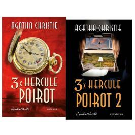 Christie Agatha: Komplet 3x Hercule Poirot