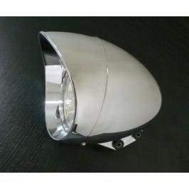 Highway-Hawk hlavní motocyklové světlo  ABS, E-mark, chrom (1ks)