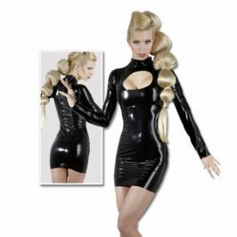 Latexové minišaty - Latex Minikleid (S)