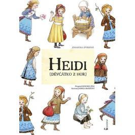 Spyriová Johanna: Heidi děvčátko z hor