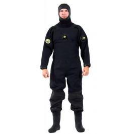 VIKING TRELLEBORG Oblek suchý VSN - zadní zip s latexovou kuklou, Viking, EXL
