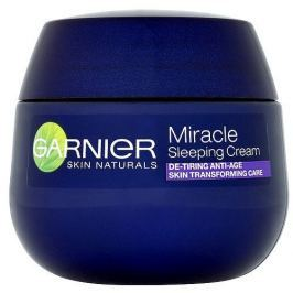 Garnier Transformující noční péče proti stárnutí a únavě (Miracle Sleeping Cream) 50 ml