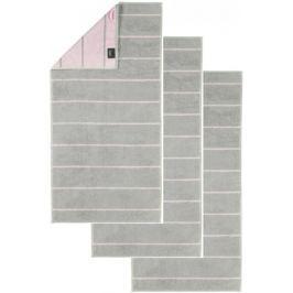 Cawö Frottier ručník Casual, pruhy, 3 ks růžová