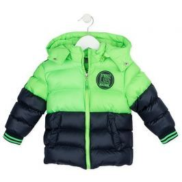 Losan chlapecká bunda 98 černá/zelená