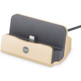 Forever Nabíjecí stojánek Forever (Apple Iphone 5/6), zlatá