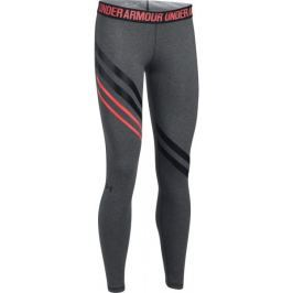 Under Armour Favorite Legging Engineered Carbon Heather Black XS