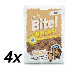 Brit Lets Bite Shine On! 4x150 g