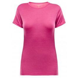 Devold Breeze T-Shirt V-Neck Watermelon XS