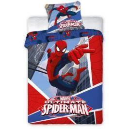 B.E.S. Petrovice Bavlněné povlečení Ultimate Spiderman modrá 140x200 cm
