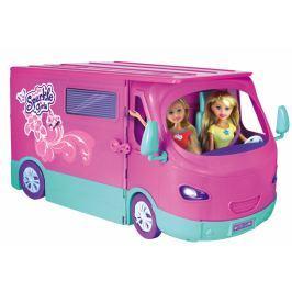 Alltoys Sparkle Girlz - Karavan obytný pro panenky