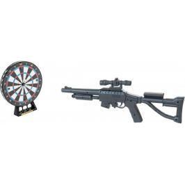 Teddies Laserová puška 53cm + terč