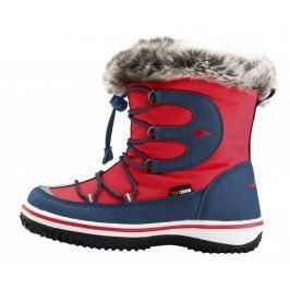 KangaROOS chlapecké sněhule Maple 29 červená/modrá