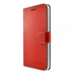 Fixed Pouzdro typu kniha Fit pro Samsung Galaxy J3 (2017), červené