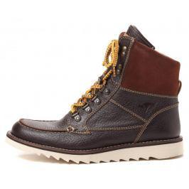 KangaROOS pánská kotníčková obuv Chieftain 42 hnědá