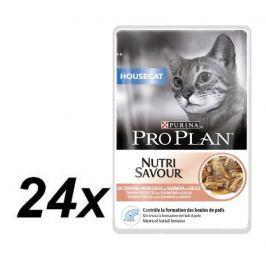 Purina Pro Plan CAT HOUSECAT Losos kapsička 24x85g Kapsičky pro kočky