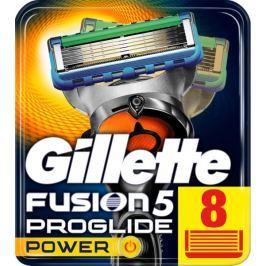 Gillette Fusion5 ProGlide Power holicí hlavice pro muže 8ks