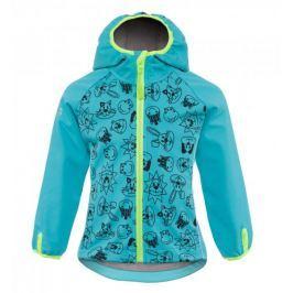 good2go chlapecká softshellová bunda GOOD2GO 80 modrá