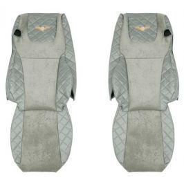F-CORE Potahy na sedadla FX07, šedé
