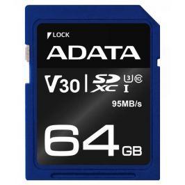 Adata Premier Pro SDXC 64GB (ASDX64GUI3V30S-R)