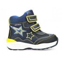 Geox chlapecká zimní obuv New Gulp 22 modrá