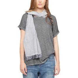 s.Oliver dámské tričko pro plnoštíhlé 52 šedá
