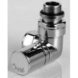 Zehnder RADVAL XS ventil rohový úhlový,ruční hlavice vlevo, chrom 838368