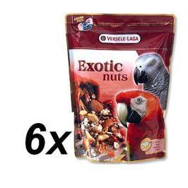 Versele Laga Exotic směs ořechy,obilovin a semen pro velké papoušky  6 x 750g
