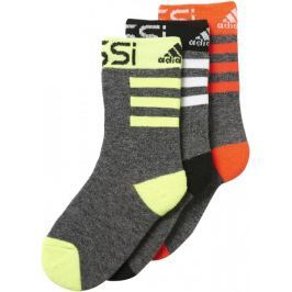 Adidas Messi K Socks 3 Black/Solar Yellow/White/Solar Red 31-34