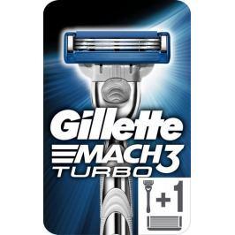 Gillette Mach3 Turbo holicí strojek pro muže + 2 holicí hlavice