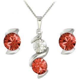 MHM Souprava šperků Sisi Siam 34200 stříbro 925/1000