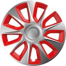 Versaco Poklice STRATOS Silver/Red sada 4ks - rozbaleno