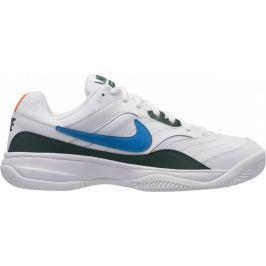 Nike Court Lite Clay Tennis Shoe White Neo Turq-Blue Force-Hyper Crimson 46