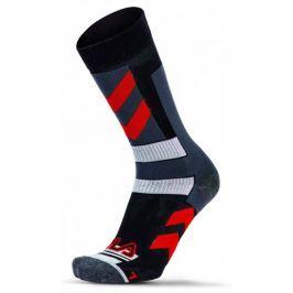 FILA Skating Socks Stripes Red 35 - 38