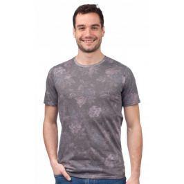 GLOBE pánské tričko Moonshine S tmavě šedá
